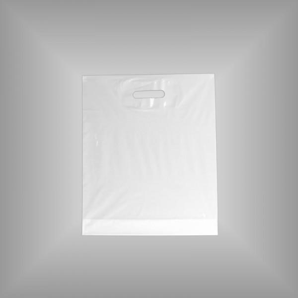 37 x 43 + 5 cm 500 St. Tragetaschen weiß