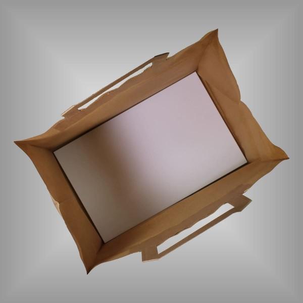 Einlegeboden 21 x 9 cm für Papiertragetaschen