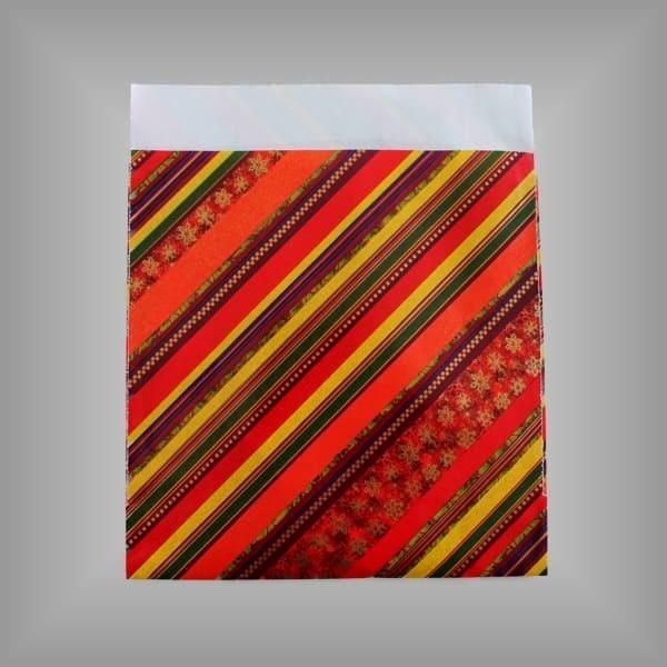 Papierflachbeutel im CD Format - Dessin 1516
