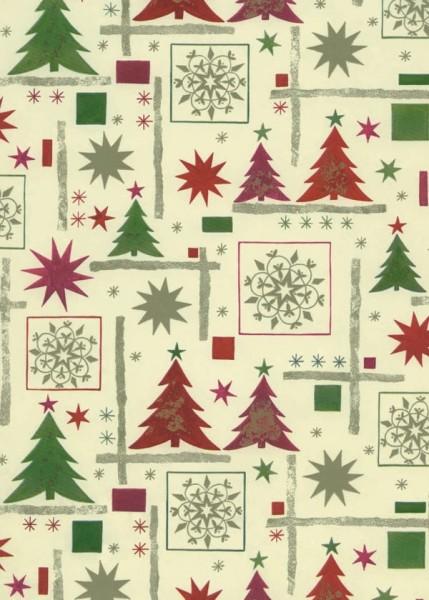 Weihnachtspapier Dessin 49302