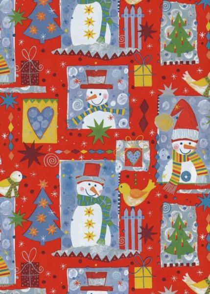 Weihnachtspapier Dessin 49726