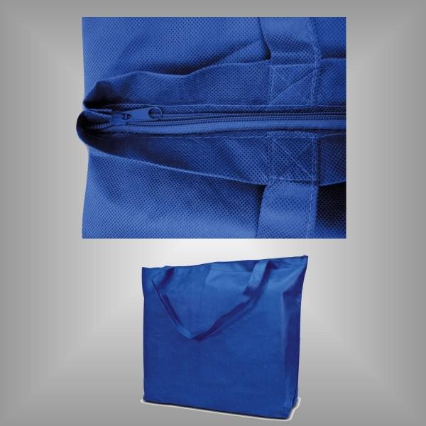 Textiltragetaschen 50 x 40 + 12 cm mit Reißverschluß