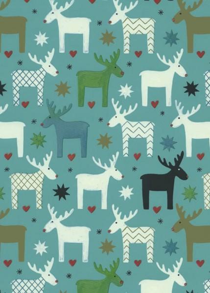 Weihnachtspapier Dessin 49304