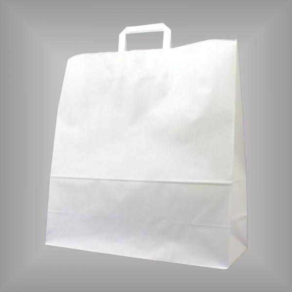 45 x 17 x 47 cm Papiertüten weiß 150 Stück