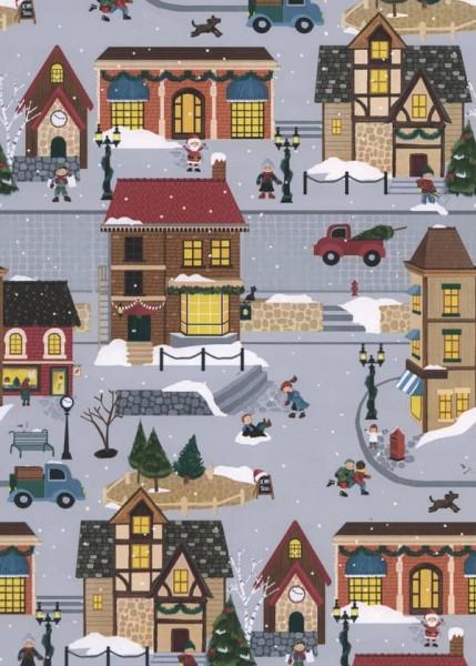 Weihnachtspapier Dessin 49296