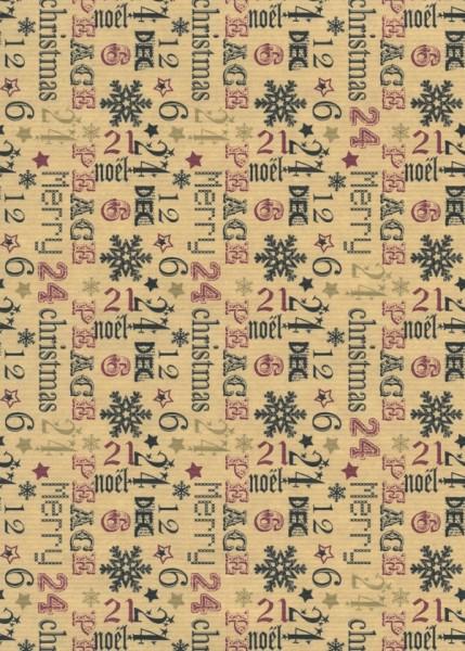 Weihnachtspapier Dessin 39903