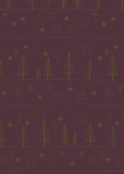 Weihnachtspapier Dessin 89903