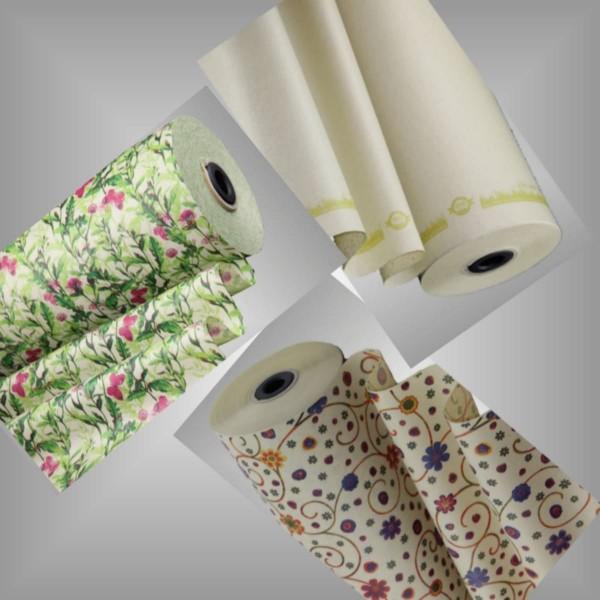 Seidenpapierrollen aus Graspapier 3 Motive