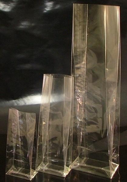Blockbodenbeutel transparent