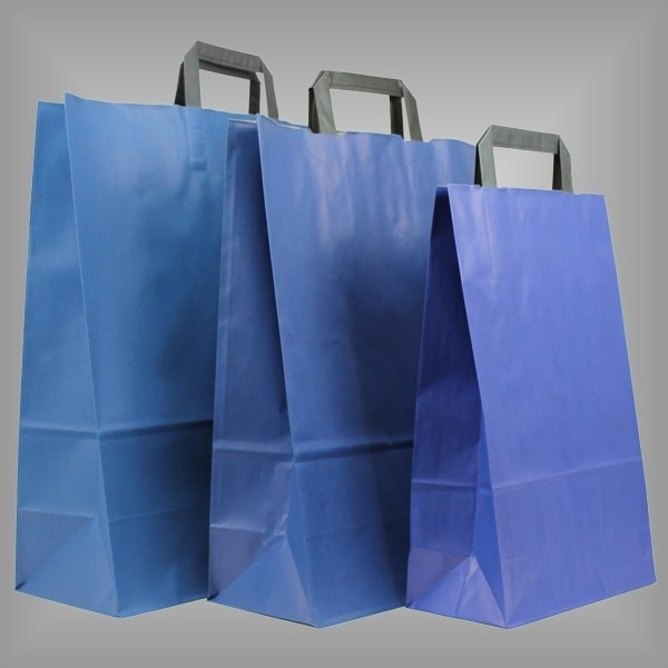 Papiertüten blau