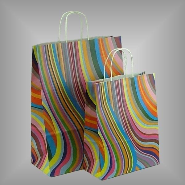 Papiertragetaschen Seventies