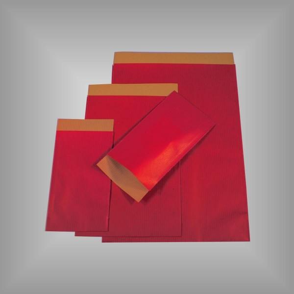 Papierflachbeutel Rot-Copy